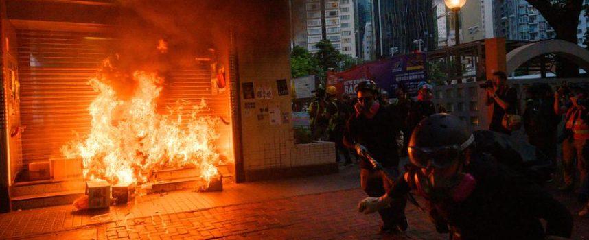Sul campo per sentire il polso della protesta di Hong Kong