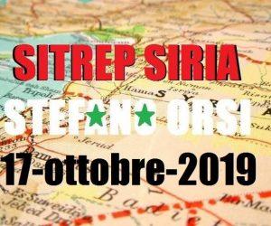 Situazione operativa sui fronti siriani del 17-10-2019