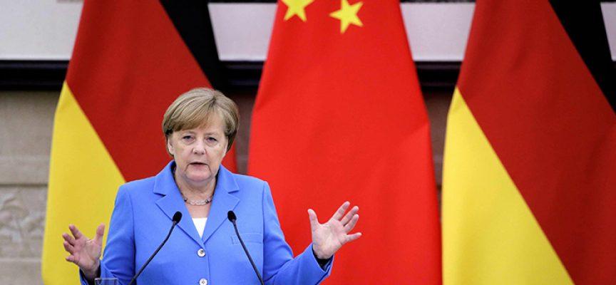 La visita del Cancelliere tedesco Angela Merkel in Cina