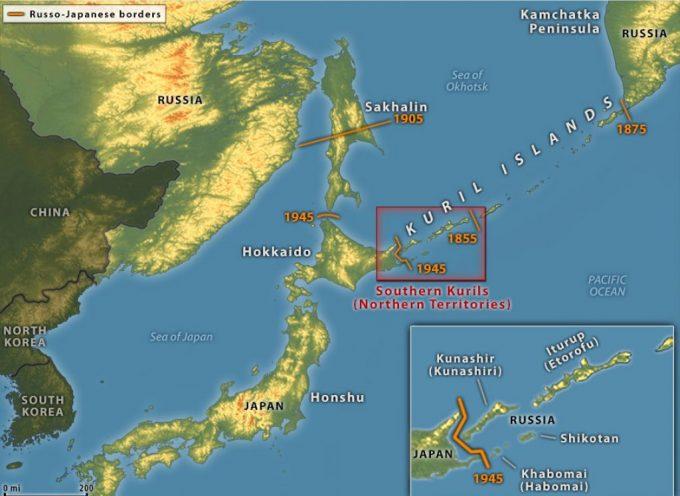La Russia interrompe i colloqui di pace col Giappone