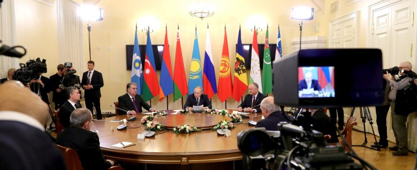 Putin e il CIS Summit a San Pietroburgo