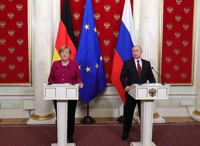Conferenza stampa a seguito dei colloqui russo-tedeschi