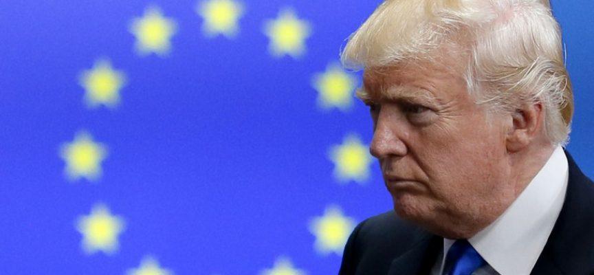 L'Europa, vigliaccamente, compiace Trump