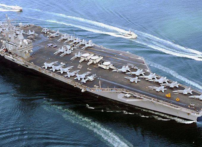 """La US Navy considera un taglio del 60% alla flotta di super-portaerei a causa del moltiplicarsi di armi """"ammazza-portaerei"""" cinesi e russe"""