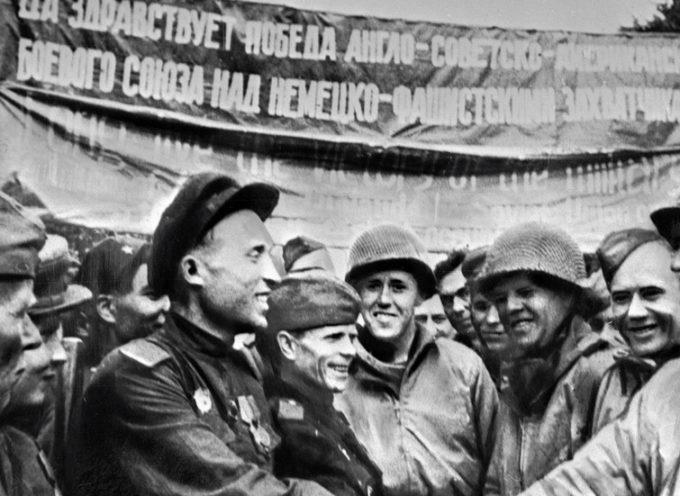 Il 75mo anniversario del Giorno dell'Elba ci ricorda potentemente che l'amicizia russo-americana è POSSIBILE