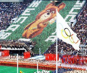 I giochi olimpici oggi e allora: a ricordo delle olimpiadi di Mosca del 1980