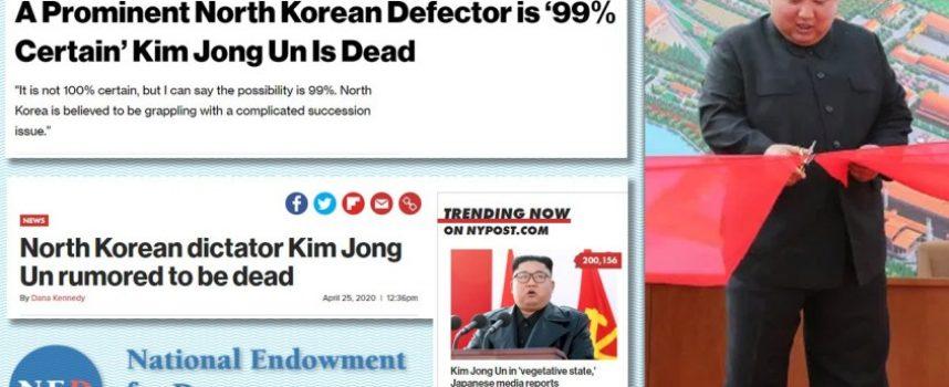Analisi delle bugie dei media sulla morte di Kim Jong-un