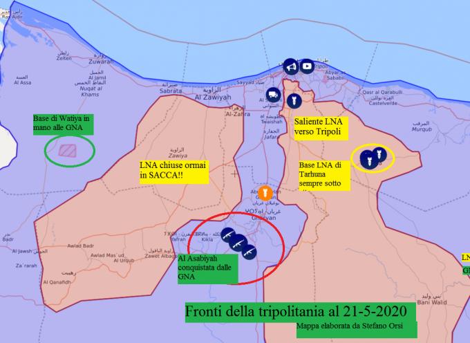 Le GNA prendono il totale controllo di Al Asabiyah 21-5-2020