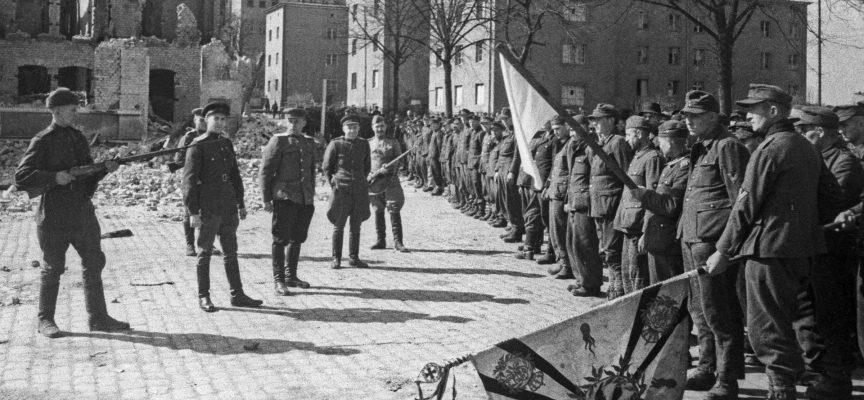 Dove l'Armata Rossa si scontrò con i Nazisti dopo la loro resa?