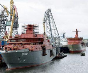 I cantieri navali russi hanno lavorato per lo più in perdita per tutto il 2019