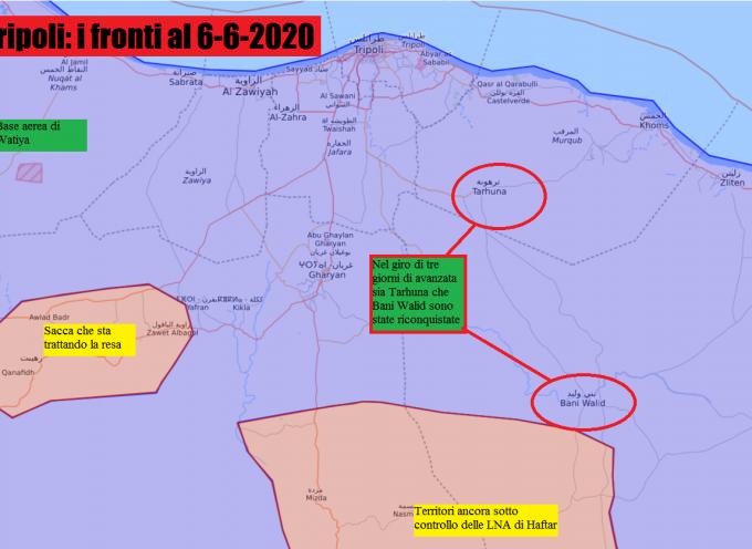 LIBIA: Le GNA conquistano anche Bani Walid 6-6-2020