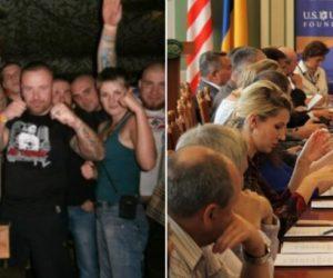 Un influente think thank ucraino di Washington ospita un'attivista neo-nazista condannata per violenza xenofoba