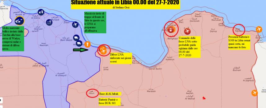 Precipita la situazione in Libia 27-7-2020