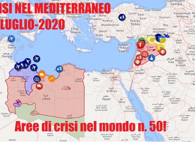 Aree di crisi nel mondo n.50 del 31-7-2020
