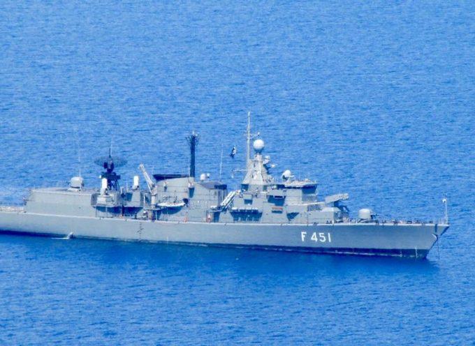 Le navi da guerra greche e turche si sono quasi scontrate nell'Egeo per i giacimenti di gas del Mediterraneo