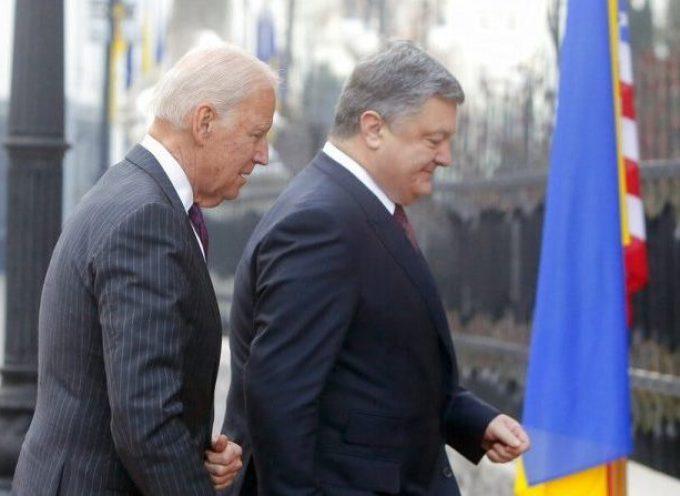 I documenti rivelano maggiori dettagli sulle avventure di Biden e Poroshenko in Ucraina