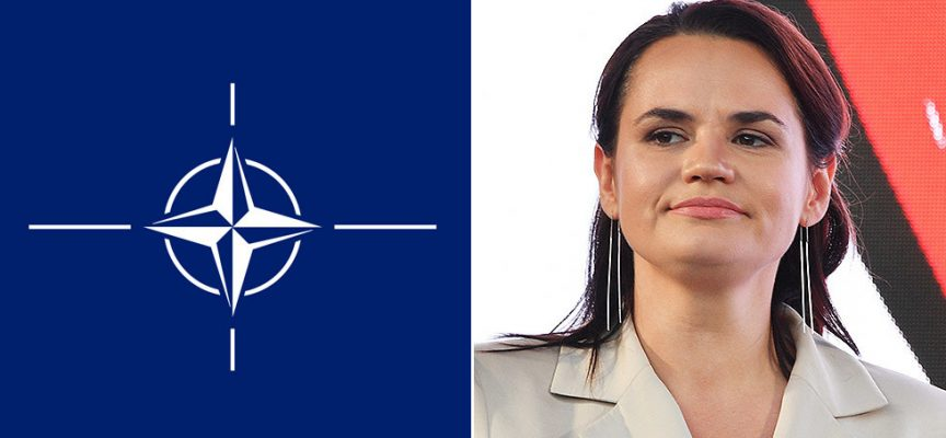 Utile idiota o cavallo di Troia? I legami col Consiglio Atlantico della NATO della figura dell'opposizione bielorussa Tichanovskaja generano dubbi