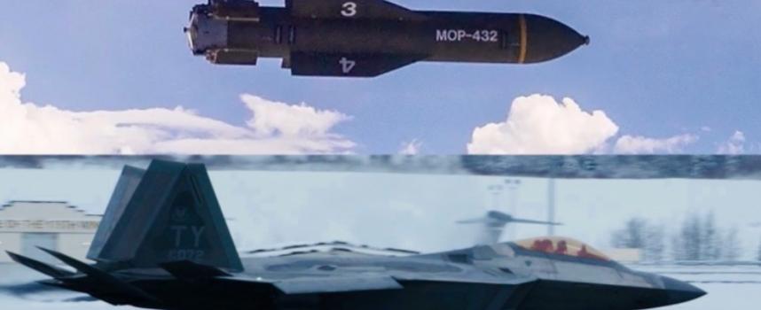 F-22 e GBU-57 a Tel Aviv? L'America potrebbe presto vendere ad Israele il caccia più stealth e la bomba antibunker più grande del mondo