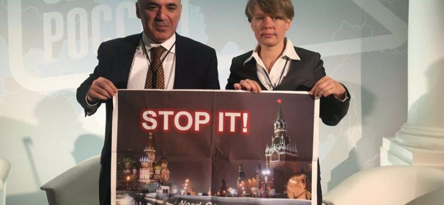 """Rovesciare Putin e restituire la Crimea: cosa è stato proposto al """"Forum Russia Libera"""""""