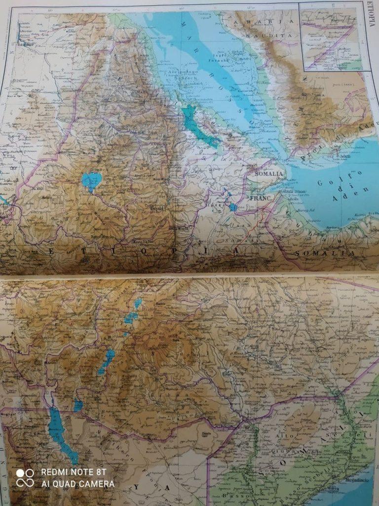 Cartina Eritrea.Situazione Di Crisi Tra Etiopia Eritrea E La Regione Del Tigray Sakeritalia