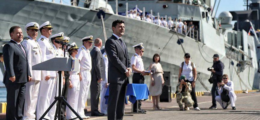 USA e Inghilterra hanno iniziato a costruire basi navali della NATO in Ucraina
