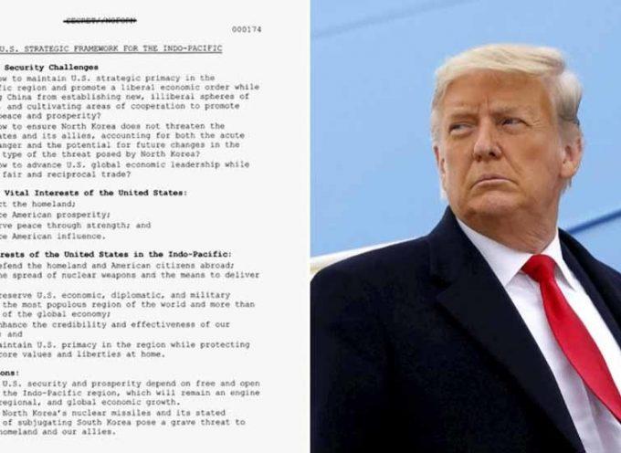 I documenti declassificati della Casa Bianca rivelano l'insicurezza dell'America in un potenziale conflitto militare con la Cina