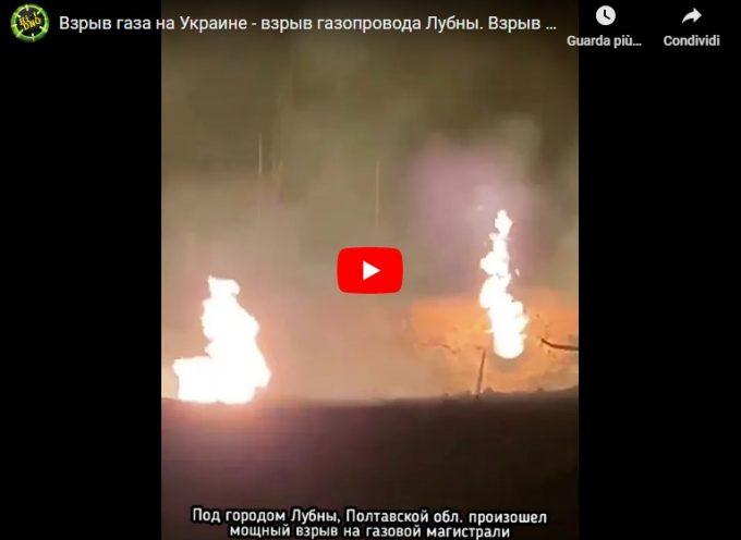 Esplosione nel principale gasdotto ucraino, le autorità affermano che potrebbe trattarsi di sabotaggio