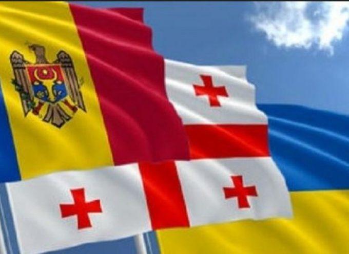 Gli americani hanno deciso che per l'Ucraina devono morire Georgiani e Moldavi