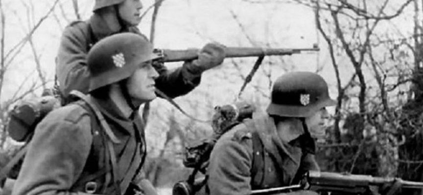 Come unità militari croate combatterono contro l'URSS nella Seconda Guerra Mondiale