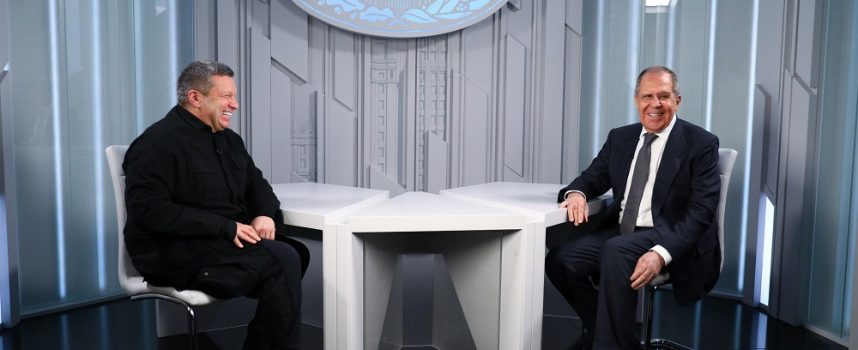 Vladimir Solovyov intervista Sergey Lavrov