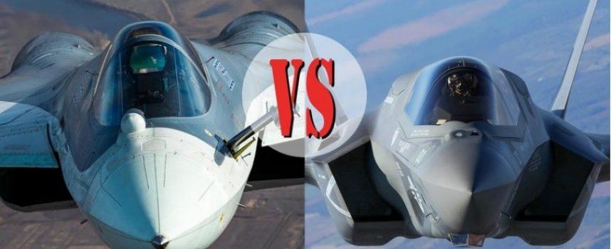 Su-57 contro F-35: qual è migliore?
