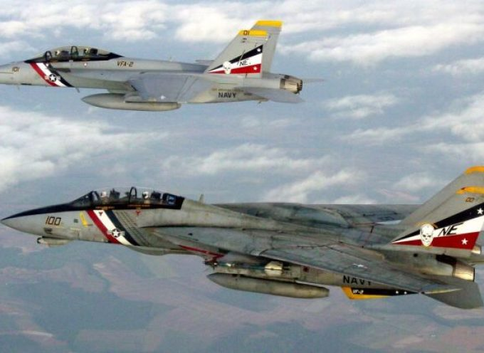 Ali tarpate per l'F-18E Super Hornet